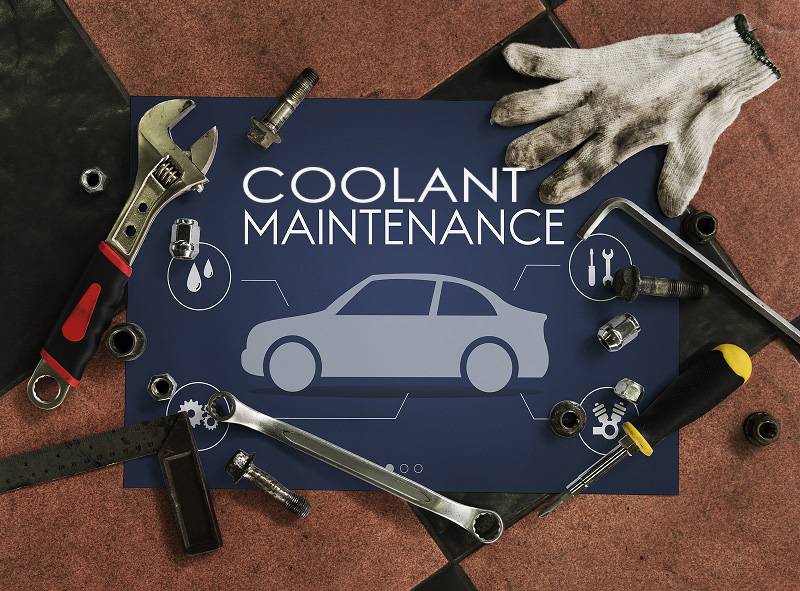 coolant flush maintenance