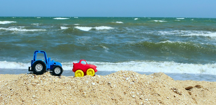 driving on the beach requires more frequent car repair