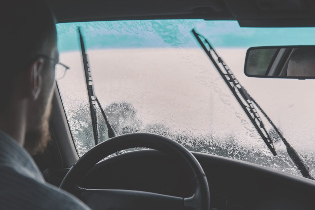 changing your wiper blades is regular maintenance