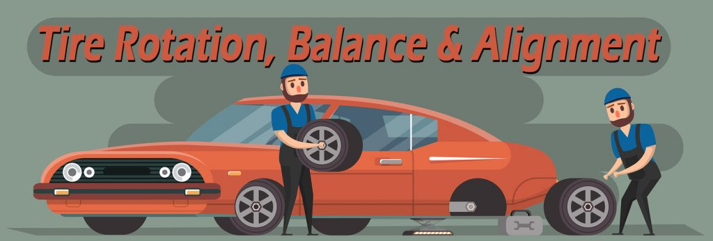 tire rotation balance and alignment