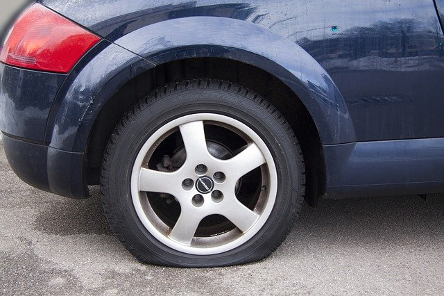 some flat tires can have tire repair