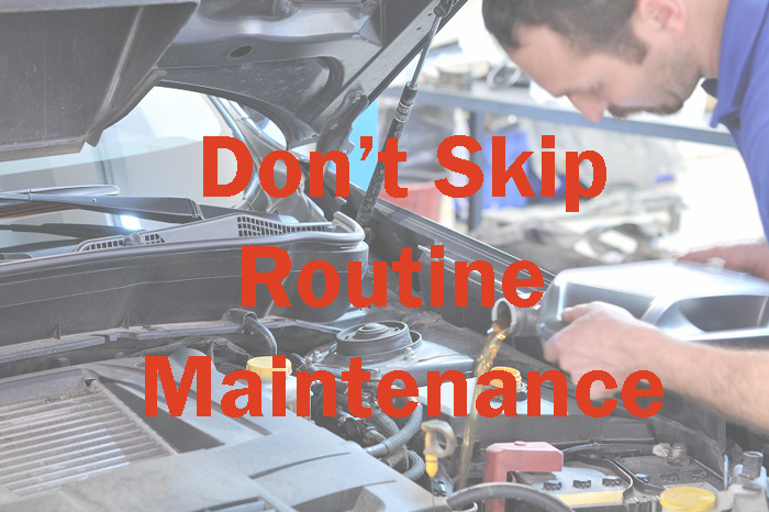 take care of oil change, tune up and more now